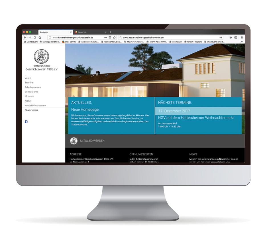 Hattersheimer Geschichtsverein Homepage